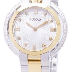 Montre Bulova Rubaiyat 98R246 diamant Accents Quartz féminin