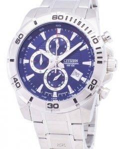 Montre citoyen Analog AN3490 - 55L chronographe tachymètre Quartz homme