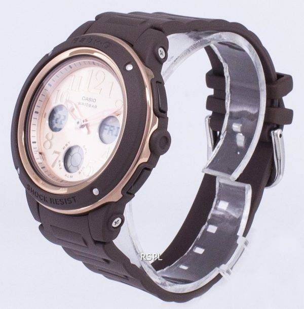 Casio Baby-G BGA-150PG-5 b 1 résistant aux chocs Illumination Women Watch