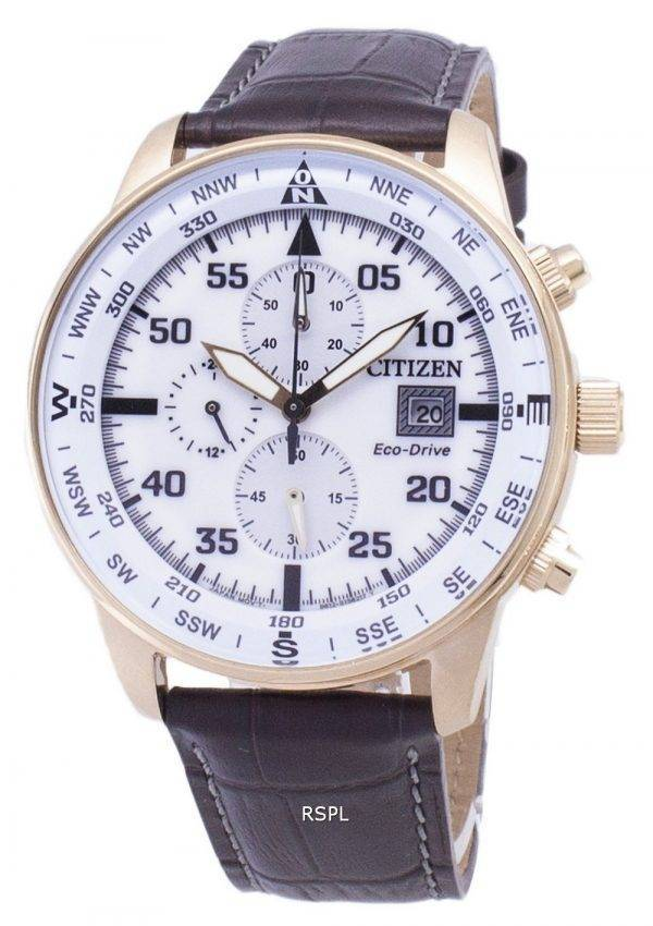 Montre Citizen Eco-Drive CA0693-12 a chronographe hommes