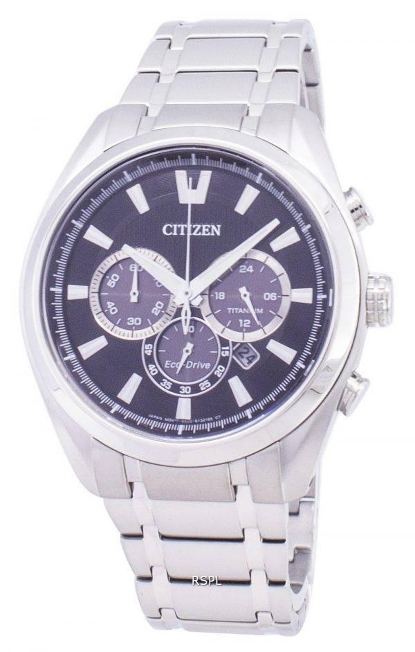 Montre Citizen Eco-Drive CA4010-58E chronographe titane masculine