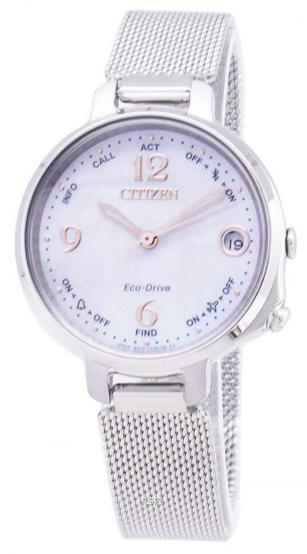 Montre Citizen Eco-Drive EE4030-85 D Bluetooth Flight Mode alarme féminin