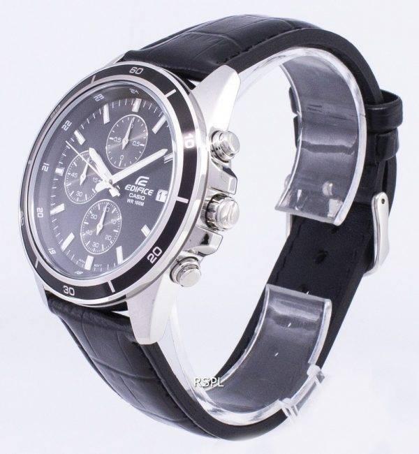 Montre Casio Edifice ef-526L-1AV chronographe Quartz homme