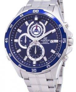 Montre Casio Edifice ef-547D-2AV illuminateur chronographe Quartz homme