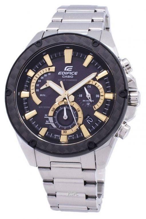 Montre Casio Edifice EQS-910d-1BV solaire chronographe hommes