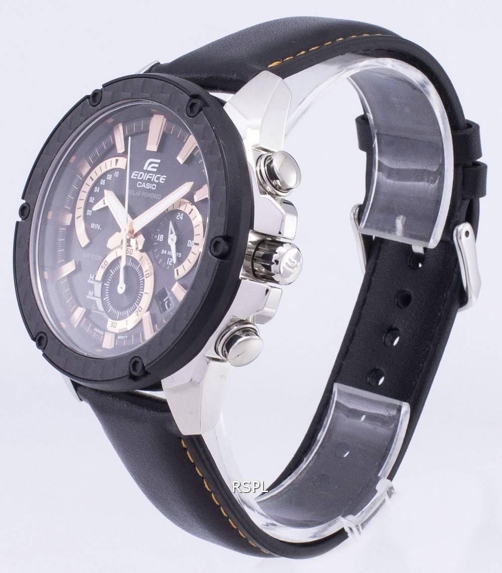 Montre Casio Edifice EQS 910L 1AV solaire chronographe  YVRin