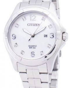 Citizen Quartz EU6080 - 58D diamant Accents Women Watch