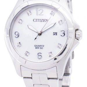 Citizen Quartz EU6080 - 58D diamant Accents Women Watch