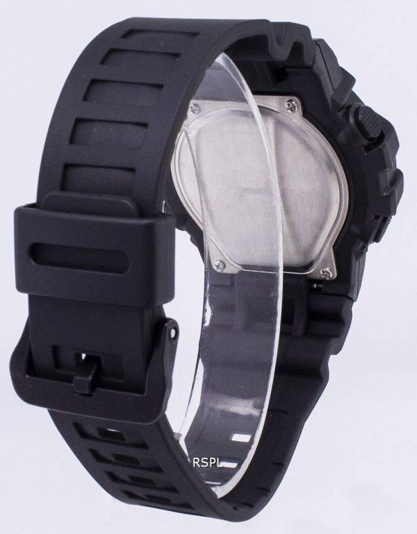 Montre jeunesse de Casio HDC-700-1AV illuminateur analogique Digital Quartz homme