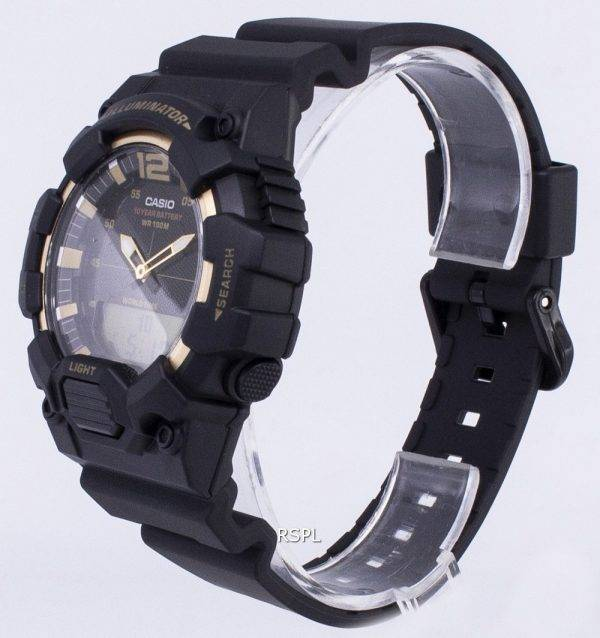 Montre Casio Retro HDC-700-9AV illuminateur analogique numérique pour hommes