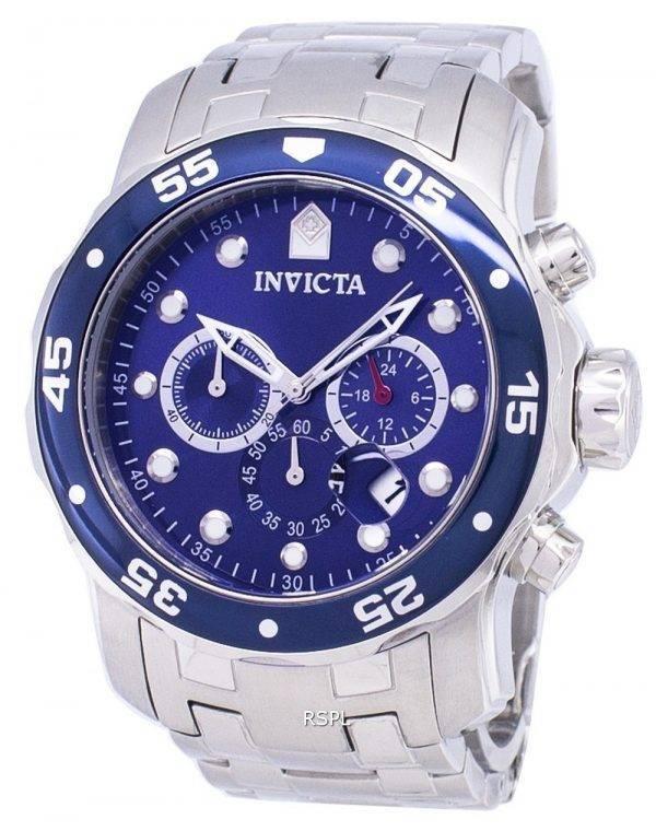 Montre Invicta Pro Diver 21921 Chronographe Quartz 200M hommes