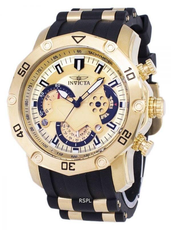 Montre Invicta Pro Diver 23427 Chronographe Quartz homme
