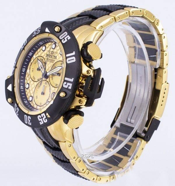 Invicta montre Subaqua 23805 Chronographe Quartz 500M homme
