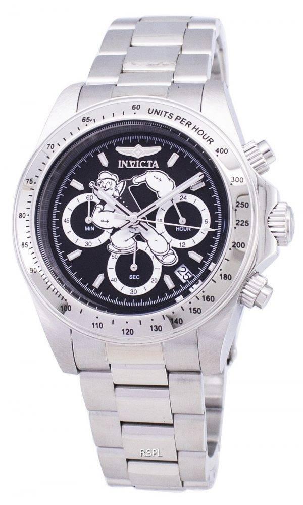 Popeye de Collection 24482 Invicta caractère limité montre chronographe Edition 200M masculin