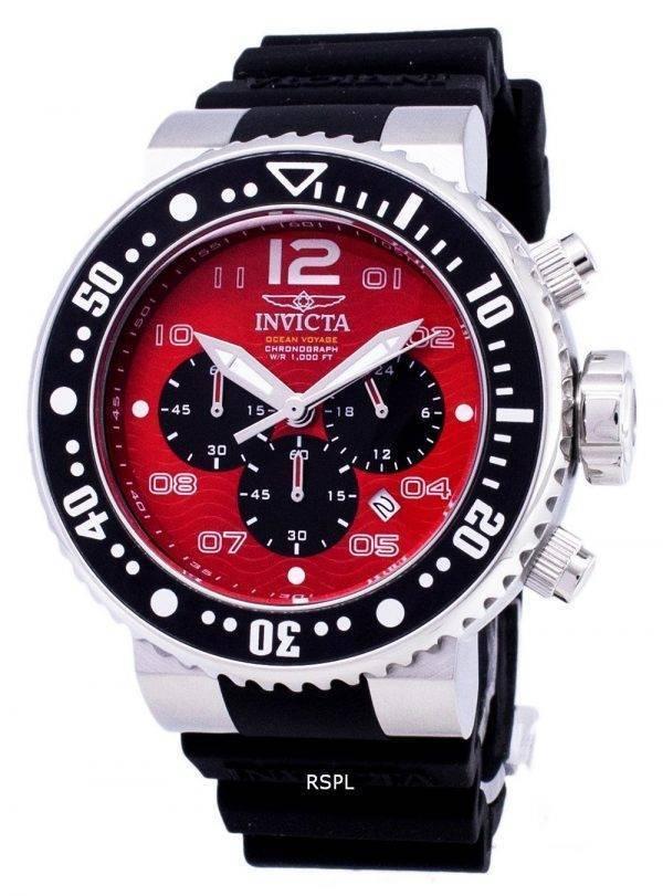 Montre Invicta Pro Diver 26734 océan Voyage Chronographe Quartz 300M hommes