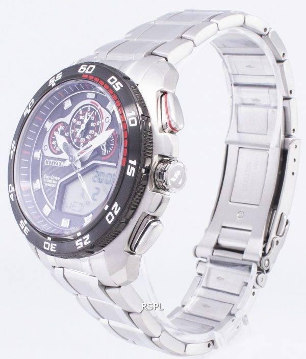 Montre Citizen Promaster Eco-Drive JW0124-53E Chronograph 200M hommes