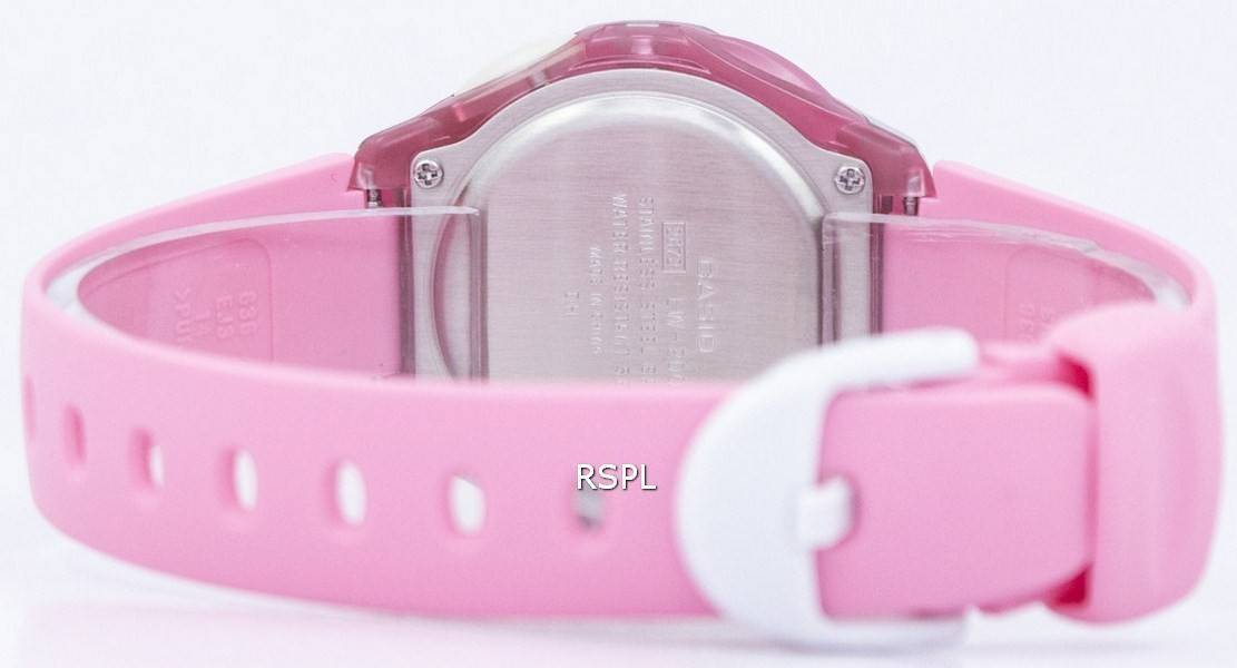 Montre Casio Digital Sports Illuminateur LW 200 4BVDF femmes  azmBe