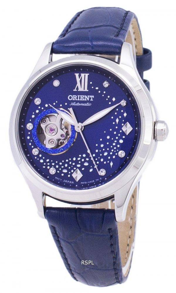 Orient automatique RA-AG0018L10B cœur ouvert Dimond Accents Women Watch