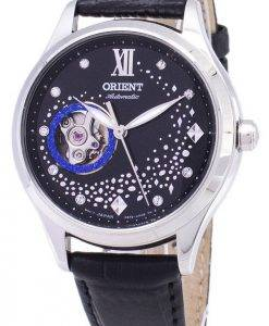 Orient automatique RA-AG0019B10B cœur ouvert diamant Accents Women Watch