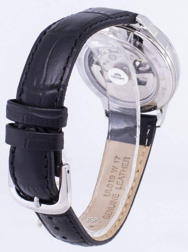 Orient automatique RA-AG0019B10B cœur ouvert diamant Accents Women Watch