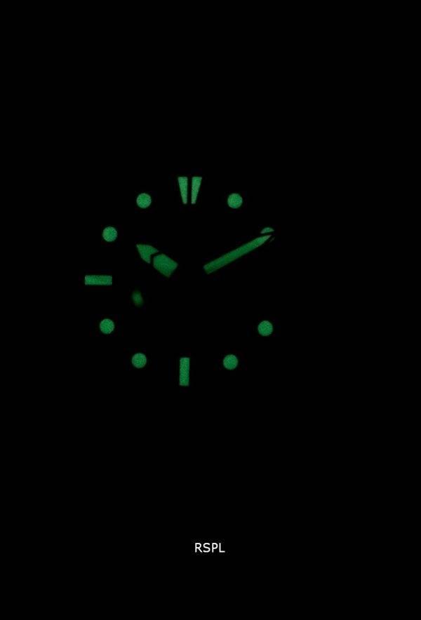 Seiko 5 Sports SNZF15K1-LS14 en cuir noir automatique bracelet montre homme