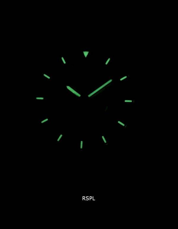 Seiko 5 Sports SNZG07K1-LS17 automatique cuir marron bracelet montre homme