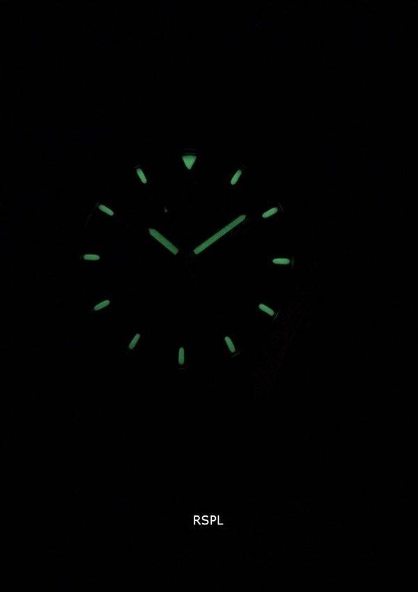 Seiko 5 Sports SNZG15K1-LS17 automatique cuir marron bracelet montre homme