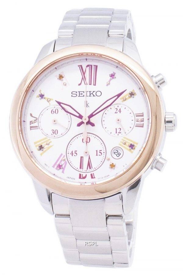 Montre Seiko Lukia Limited Edition SRWZ82 SRWZ82P1 SRWZ82P chronographe féminin