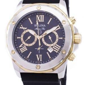 Montre Bulova Marine Star 98B277 chronographe Quartz homme