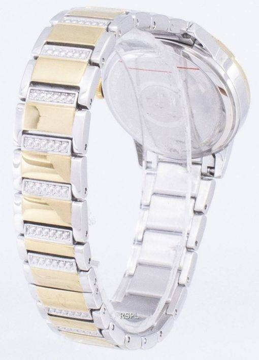 Bulova Crystal TurnStyle 98 L 245 Quartz diamant Accents Women Watch