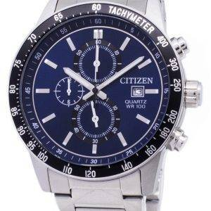 Montre tachymètre chronographe AN3600 - 59L Citizen Quartz homme