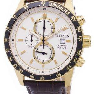 Montre Citizen Chronograph AN3602-02 a tachymètre Quartz homme