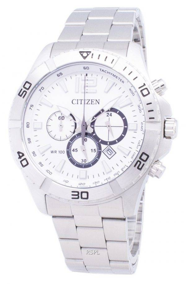 Citizen automatique AN8120-57 a chronographe analogique montre homme