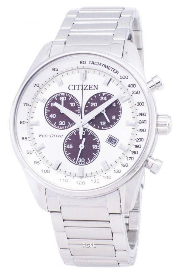Montre Citizen Eco-Drive AT2390-82 a chronographe hommes
