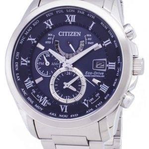 Citizen Eco-Drive AT9080 - 57L radiocommandés chronographe montre homme