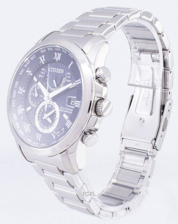 Citizen Eco-Drive AT9080 - 57L radiocommandés chronographe montre homme