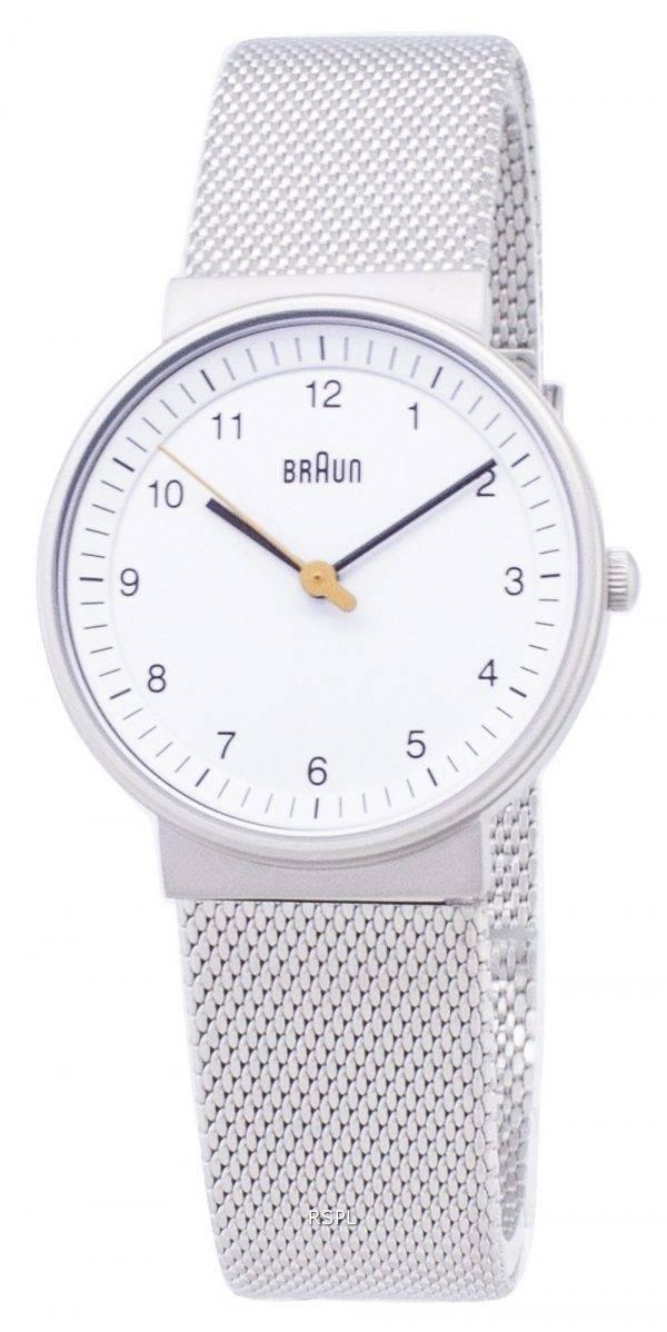 Braun BN0031WHSLMHL classique Quartz analogique Women Watch