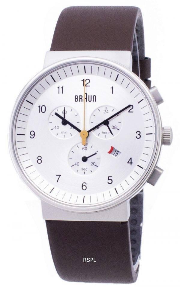 Montre Braun BN0035SLBRG classique chronographe Quartz homme