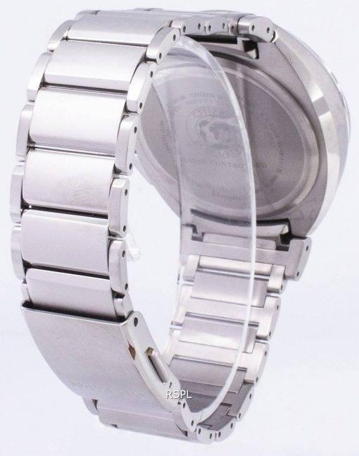 Attesa Citizen Eco-Drive BY0020-59E titane analogique montre homme