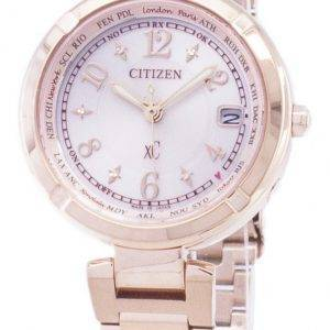 Citizen Eco-Drive EC1118-51W radiocommandé Japon fait analogique Women Watch