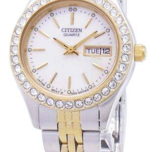 Citizen Quartz EQ0534 - 50D diamant Accents analogiques Women Watch