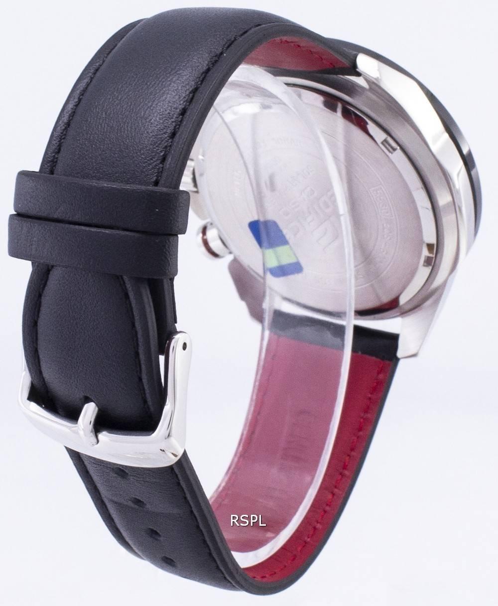 Montre Casio Edifice EQS 600BL 1 a solaire chronographe  mVMxC