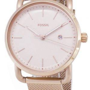 Fossiles du ES4333 de banlieue Quartz analogique Women Watch