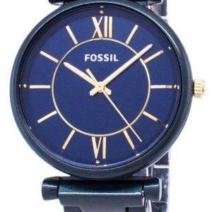 Fossile de tailleur ES4427 Quartz analogique Women Watch