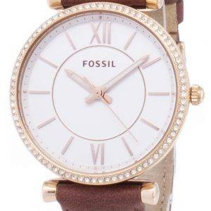 Carlie fossile ES4428 Diamond Quartz analogique Women Watch