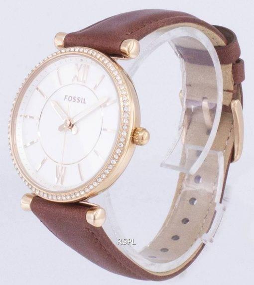 Carlie fossile ES4428 Diamond Quartz analogique Women Watch