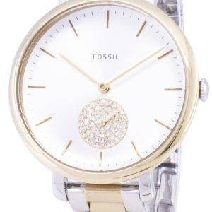 Fossiles Jacqueline ES4439 Diamond Quartz analogique Women Watch