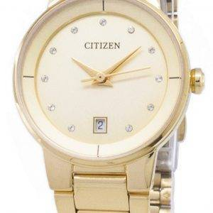 Citizen automatique EU6012 - 58P diamant Accents analogiques Women Watch