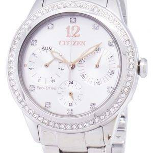 Citizen Eco-Drive FD2010-58 a diamant Accents analogiques Women Watch