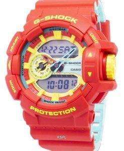 Les modèles de couleur spéciale de Casio G-Shock GA-400CM-4 a Analog Digital 200M Watch hommes